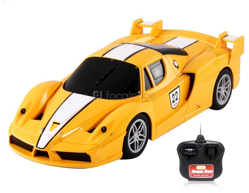 Uzaktan Kumandalı Ferrari Oyuncak Araba 1 18 Rc 61 85 Tl
